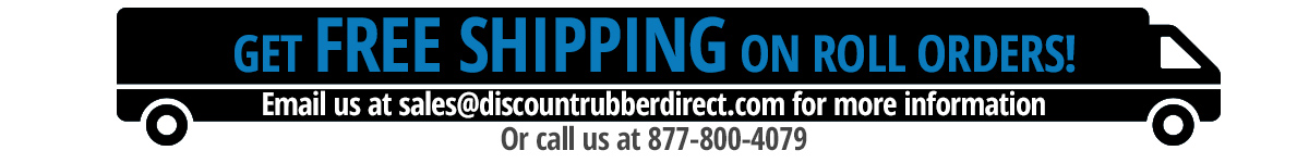 free shipping on rubber rolls