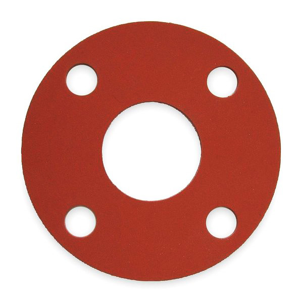 Red SBR Full Face Gaskets | Discount Rubber Direct