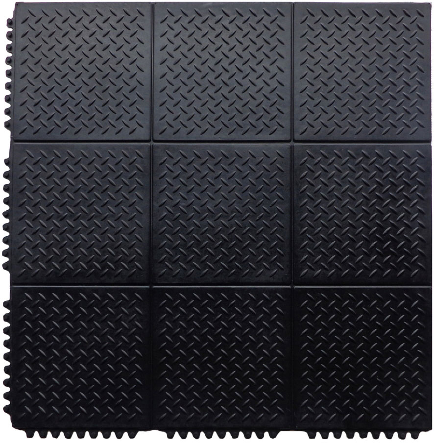 Diamond tuff interlocking floor tiles discount rubber direct interlocking rubber tiles dailygadgetfo Gallery