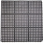 Rubber Interlocking Mat With Holes